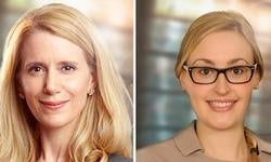 Marie Cossette and Charlotte Fortin participate in the Strategic Day on Disciplinary Law
