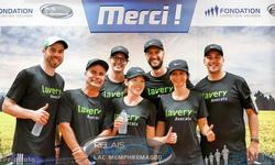 Two Lavery teams from Sherbrooke participate in the Relais du Lac Memphrémagog