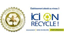 Lavery – the first law firm  to receive ICI ON RECYCLE! Program's Level 3 Gold Achievement Certification