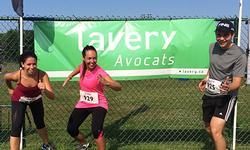 Lavery sur le podium au Triathlon de St-Lambert
