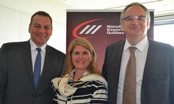 Édith Jacques and Pierre Alarie speak on business opportunities in Mexico