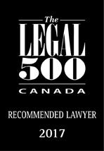 Legal 500 Canada 2017
