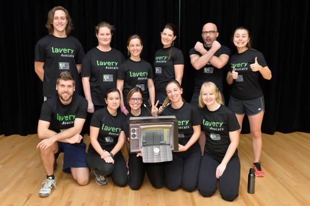 Une équipe Lavery de Sherbrooke participe au Défi à l'entreprise