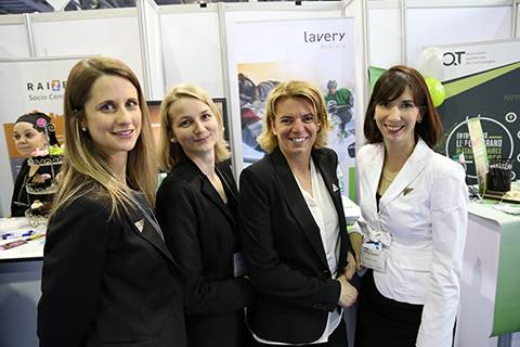 Karine Pelletier, Catherine Gendron, Marie-Hélène Riverin and Valérie Belle-Isle